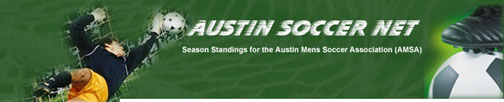 Austin Mens Soccer Association  - Division Over 30A