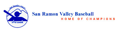 San Ramon Valley Little League -  8 Year Old Registration