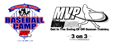 MVP Baseball-Softball Academy - 2007 Summer Camps for Ages 10 and Over